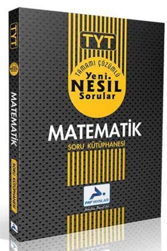 PRF Yayınları TYT Matematik Tamamı Çözümlü Soru Kütüphanesi
