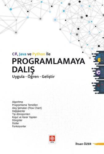 C# Java ve Python ile Programlamaya Dalış İhsan Özer