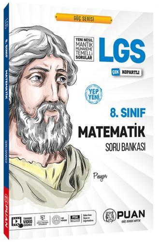 Puan Yayınları 8. Sınıf LGS Matematik Soru Bankası