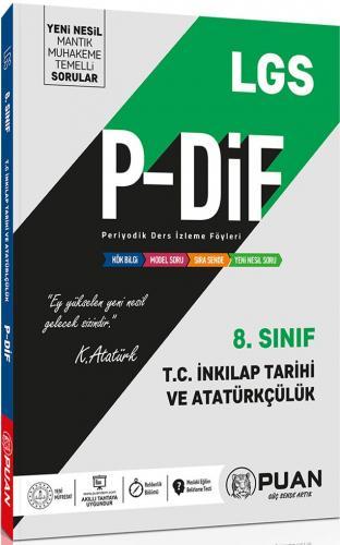 Puan Yayınları 8. Sınıf LGS T.C. İnkılap Tarihi ve Atatürkçülük PDİF Konu Anlatım Föyleri