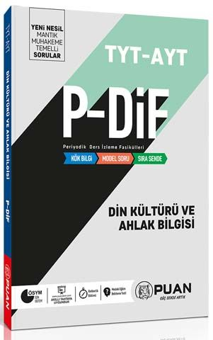 Puan Yayınları TYT AYT Din Kültürü ve Ahlak Bilgisi PDİF Konu Anlatım Fasikülleri