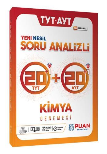 Puan Yayınları TYT AYT Kimya Soru Analizli 42 Deneme