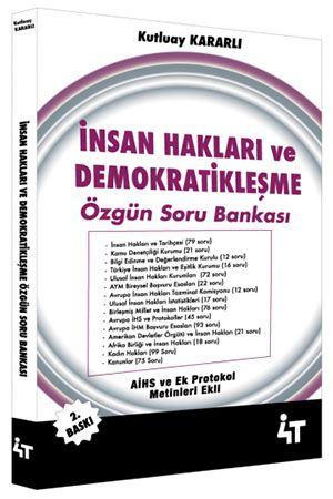4T İnsan Hakları ve Demokratikleşme Özgün Soru Bankası %27 indirimli K