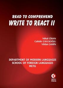 Read to Comprehend Write to React II-Odtü Yayıncılık