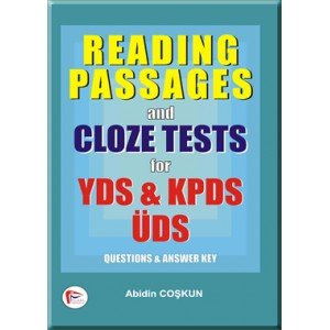 Reading Passages and Cloze Tests for YDS & KPDS, ÜDS