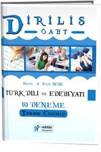 Rektör KPSS ÖABT Türk Dili ve Edebiyatı Öğretmenliği Diriliş Tamamı Çözümlü 10 Deneme 2016