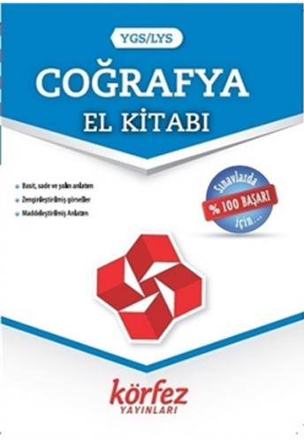 Körfez Yayınları YGS LYS Coğrafya El Kitabı %50 indirimli