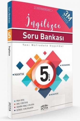 RTY Rota Yayınları 5. Sınıf İngilizce Soru Bankası