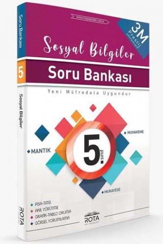 RTY Rota Yayınları 5. Sınıf Sosyal Bilgiler Soru Bankası
