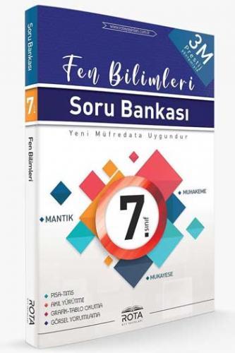 RTY Rota Yayınları 7. Sınıf Fen Bilimleri Soru Bankası