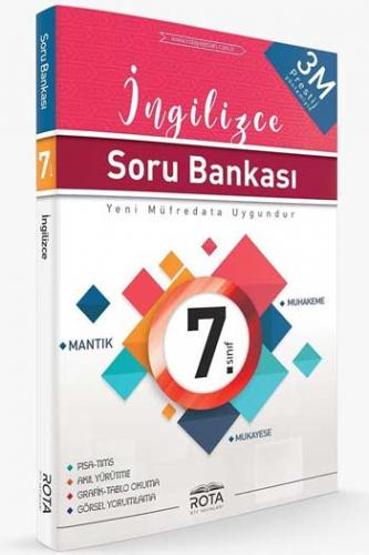 RTY Rota Yayınları 7. Sınıf İngilizce Soru Bankası