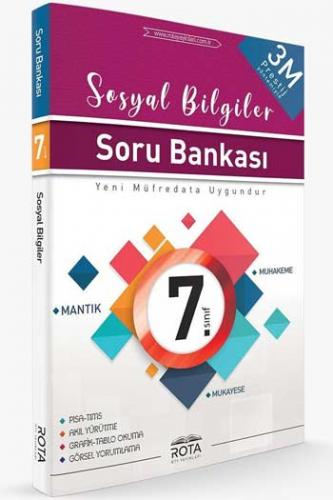 RTY Rota Yayınları 7. Sınıf Sosyal Bilgiler Soru Bankası