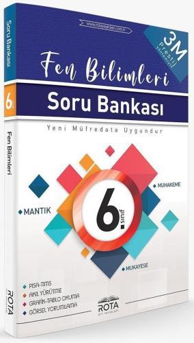Rty Rota Yayınları 6. Sınıf Fen Bilimleri 3M Prestij Soru Bankası