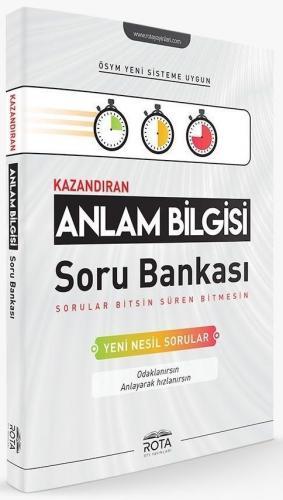 Rty Rota Yayınları Anlam Bilgisi Kazandıran Soru Bankası