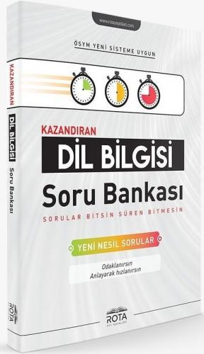 Rty Rota Yayınları Dil Bilgisi Kazandıran Soru Bankası