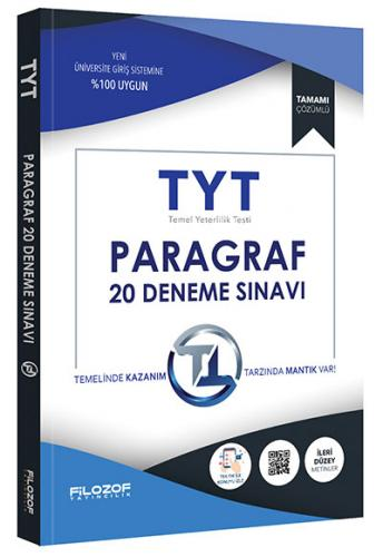 Filozof TYT Paragraf 20 Deneme Sınavı