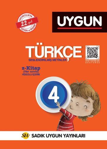Sadık Uygun Yayınları 4. Sınıf Türkçe Seslendirilmiş Metinler