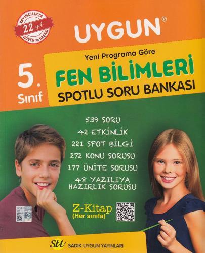 Sadık Uygun Yayınları 5. Sınıf Fen Bilimleri Spotlu Soru Bankası