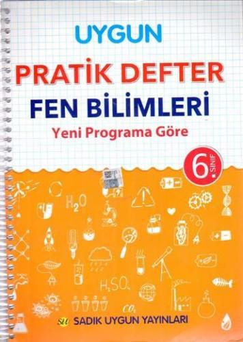 Sadık Uygun Yayınları 6. Sınıf Fen Bilimleri Pratik Defter