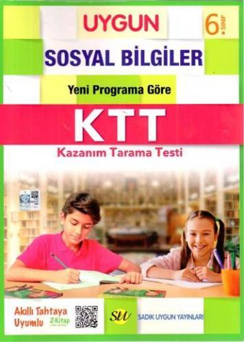 Sadık Uygun Yayınları 6. Sınıf Sosyal Bilgiler Kazanım Tarama Testi