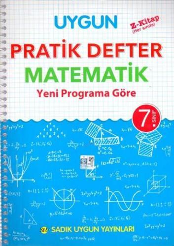 Sadık Uygun Yayınları 7. Sınıf Matematik Pratik Defter