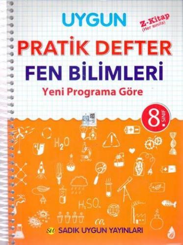 Sadık Uygun Yayınları 8. Sınıf Fen Bilimleri Pratik Defter