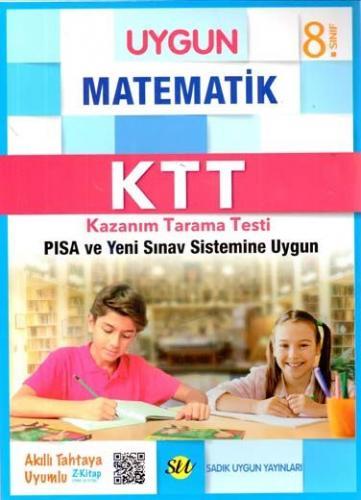 Sadık Uygun Yayınları 8. Sınıf Matematik Kazanım Tarama Testi