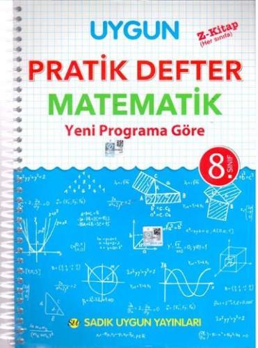 Sadık Uygun Yayınları 8. Sınıf Matematik Pratik Defter