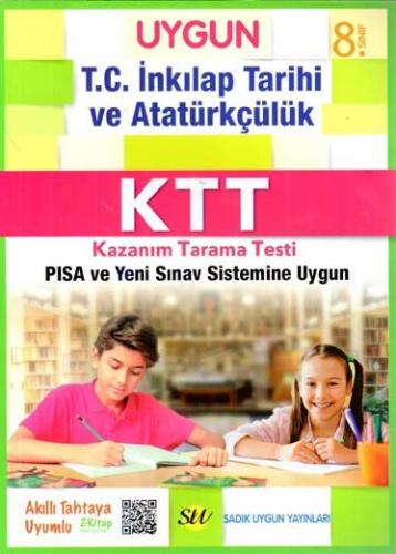 Sadık Uygun Yayınları 8. Sınıf T.C. İnkılap Tarihi ve Atatürkçülük Kazanım Tarama Testi