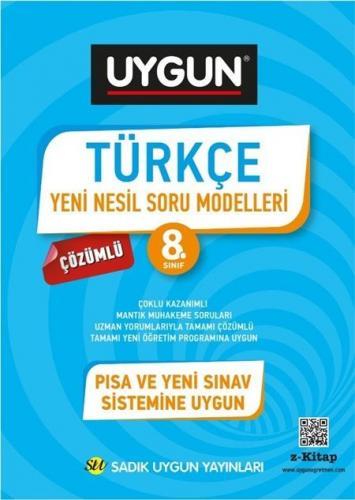 Sadık Uygun Yayınları 8. Sınıf Türkçe Yeni Nesil Soru Modelleri