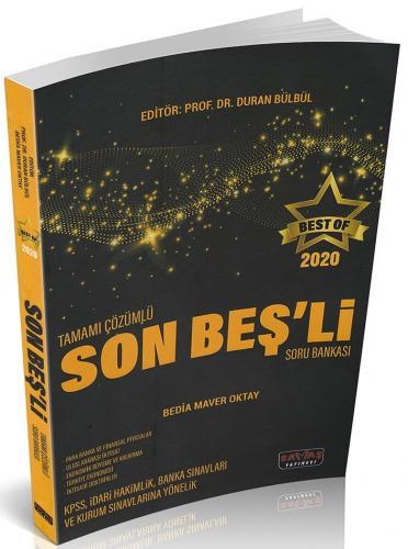 BEST OF Tamamı Çözümlü Son Beşli Soru Bakası Duran Bülbül