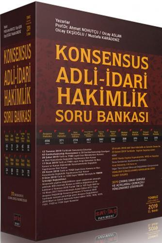Konsensus Adli İdari Hakimlik Soru Bankası Modüler Set