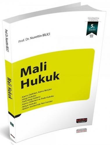 Mali Hukuk Nurettin Bilici