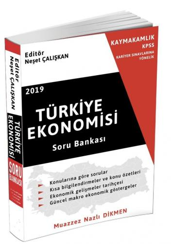 Türkiye Ekonomisi Soru Bankası %30 indirimli Muazzez Nazlı Dikmen