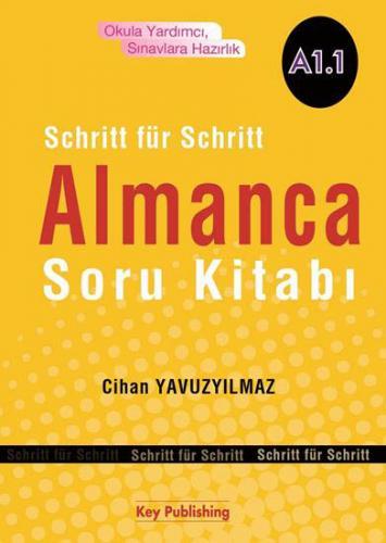 Schritt für Schritt Almanca Soru Kitabı A1.1 - Cihan Yavuzyılmaz