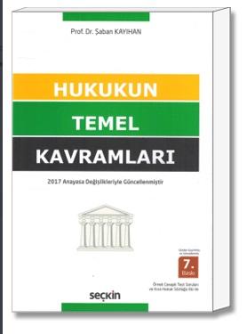 Hukukun Temel Kavramları (Şaban Kayıhan)