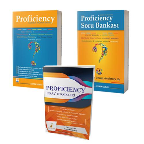 Proficiency Hazırlık Atlama Seti Konu Anlatımı-Soru Bankası-Sınav Teknikleri