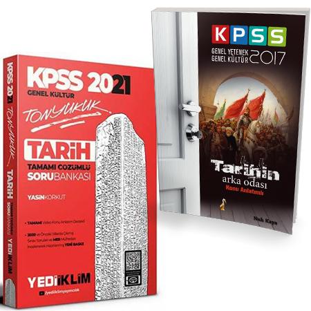 Yediiklim 2021 KPSS Tonyukuk Tarih Tamamı Çözümlü Soru Bankası+KPSS Ta