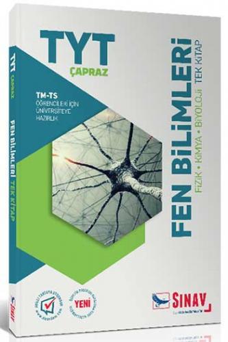 Sınav TYT Çapraz TM TS Öğrencileri İçin Fen Bilimleri Tek Kitap