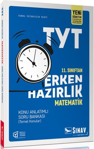Sınav Yayınları 11. Sınıf Matematik TYT Erken Hazırlık Konu Anlatımlı