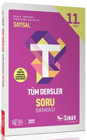 Sınav Yayınları 11. Sınıf Tüm Dersler Sayısal Soru Bankası