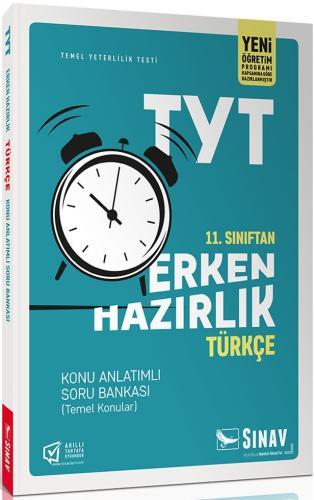 Sınav Yayınları 11. Sınıf TYT Türkçe Erken Hazırlık Konu Anlatımlı Sor