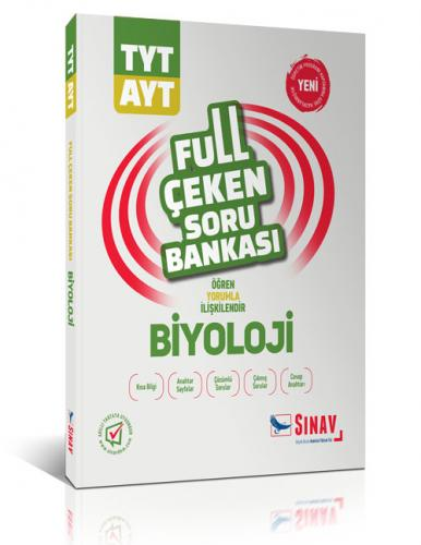 Sınav TYT AYT Biyoloji Full Çeken Soru Bankası