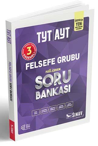 Sınav Yayınları TYT AYT Felsefe Grubu Soru Bankası