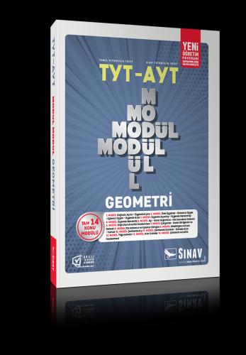 Sınav Yayınları AYT Geometri Modül Modül Konu Anlatımlı
