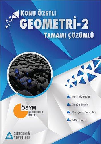 Sıradışı Analiz AYT Geometri 2 Konu Özetli Tamamı Çözümlü