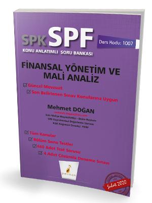 Pelikan SPK - SPF Finansal Yönetim ve Mali Analiz Konu Anlatımlı Soru Bankası 1007