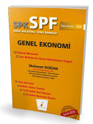 Pelikan SPK - SPF Genel Ekonomi Konu Anlatımlı Soru Bankası 1008