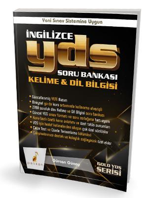 Gold Serisi İngilizce YDS Soru Bankası Kelime & Dilbilgisi