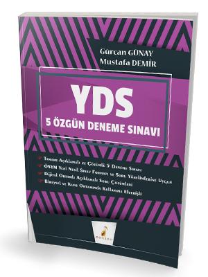 YDS Çek Kopart 5 Özgün Deneme Sınavı Dijital Çözümlü Gürcan Günay, Mus